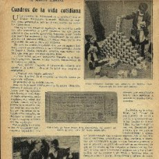 Collectionnisme de Revues et Journaux: * ALEMANIA * CUADROS DE LA VIDA COTIDIANA: LA MISERIA ALEMANA - 1923. Lote 28232544