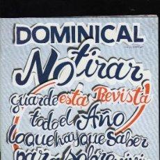 Coleccionismo de Revistas y Periódicos: REVISTA DOMINICAL Nº 433 - 2 DE ENERO DE 2011 (68 PÁGINAS). Lote 28255618