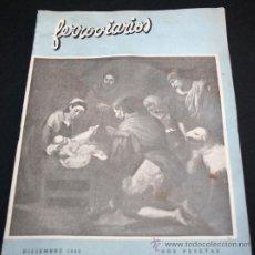 Coleccionismo de Revistas y Periódicos: REVISTA FERROVIARIOS DE DICIEMBRE 1949 - FERROCARRIL TREN RENFE TRENES FERROCARRILES . Lote 28263534