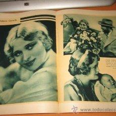 Coleccionismo de Revistas y Periódicos: ACTRIZ DOLORES COSTELLO 2 HOJAS DE REVISTA BLANCO Y NEGRO 1931. Lote 28291183