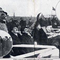 Coleccionismo de Revistas y Periódicos: AVIACION 1913 MADRID CIUDAD LINEAL REYES EXIBICION AEREA GARNIER 2 JHOJAS REVISTA. Lote 28363274