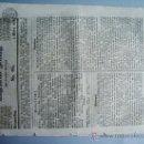 Coleccionismo de Revistas y Periódicos: 1840-PERIÓDICO ALEMÁN.ESPAÑA.TURQUÍA. CHINA. FRANCIA. Lote 28366497