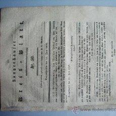 Coleccionismo de Revistas y Periódicos: 1812- PERIÓDICO ALEMÁN SANGERHAUSEN.GUERRA ESPAÑA.EL VERDUGO. Lote 28366828