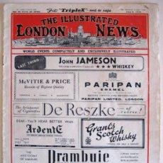 Coleccionismo de Revistas y Periódicos: REVISTA THE ILLUSTRATED LONDON NEWS. UN EJEMPLAR DE JUNIO DE 1946 --- CON REGALO DE 2 LÁMINAS. Lote 28446461