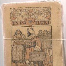 Coleccionismo de Revistas y Periódicos: LOT 51 NUMS. REVISTA PATUFET DEL 1918. 18X13 CM. Lote 28480519