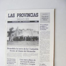 Coleccionismo de Revistas y Periódicos: LAS PROVINCIAS XX, ANUARIO DE VALENCIA 1901. Lote 28594953