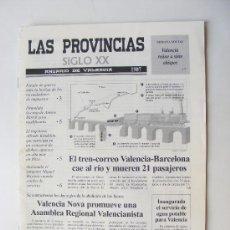 Coleccionismo de Revistas y Periódicos: LAS PROVINCIAS XX, ANUARIO DE VALENCIA 1907. Lote 28594961
