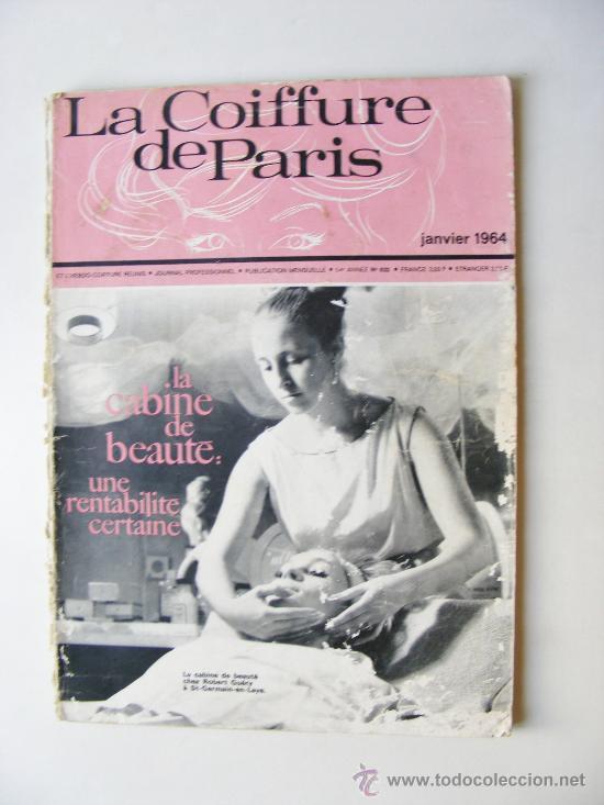 La Coiffure De Paris Janvier 1964 Nº 632 Comprar Otras Revistas
