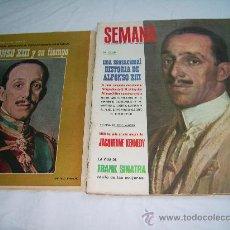 Coleccionismo de Revistas y Periódicos: SEMANA Nº 1401.FRANK SINATRA. JANE MASFIELD. CLAUDIA CARDINALE. LOS TRES SUDAMERICANOS .JANETH LEIGH. Lote 28651870