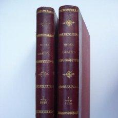 Coleccionismo de Revistas y Periódicos: MUNDO GRAFICO - 1920 - DOS TOMOS ENCUADERNADOS - LOMO PIEL - LETRAS Y ADORNOS ORO.. Lote 28640935