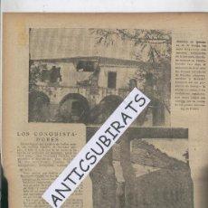 Coleccionismo de Revistas y Periódicos: ABC.16-08-1938.GUERRA CIVIL.DOS FOTOS DE LA DESTRUCCION DE QUINTANA DE LA SERENA.BADAJOZ.. Lote 28640785