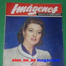 Coleccionismo de Revistas y Periódicos: IMAGENES REVISTA DE CINEMATOGRAFIA 47/1949 GREER GARSON~LIZ TAYLOR~MARGARET LOCKWOOD~SONJA HENIE . Lote 28672211