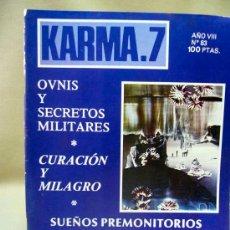 Coleccionismo de Revistas y Periódicos: REVISTA, KARMA 7, AÑO VIII, Nº 83, SECRETOS MILITARES, KARMA 7. Lote 28712089
