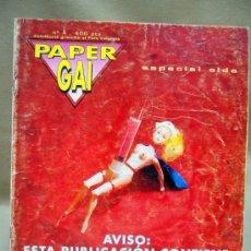 Coleccionismo de Revistas y Periódicos: REVISTA, PAPER GAI, Nº 4, ESPECIAL SIDA, EXTRA 1994 - 1995, COL.LECTIU LAMBDA. Lote 28771007