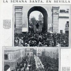 Coleccionismo de Revistas y Periódicos: SEVILLA 1929 SEMANA SANTA HOJA REVISTA. Lote 28765978