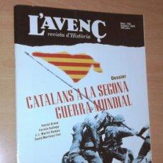 Coleccionismo de Revistas y Periódicos: L'AVENÇ. REVISTA D'HISTÒRIA 196, 1995 (CATALANS A LA SEGONA GUERRA MUNDIAL). Lote 28795982