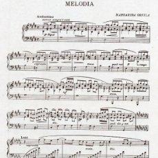 Coleccionismo de Revistas y Periódicos: PARTITURA 1917 MELODIA 2 HOJAS REVISTA. Lote 28812953