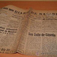 Coleccionismo de Revistas y Periódicos: PERIODICO DIARIO DE NAVARRA /5 JULIO 1944 GUERRA MUNDIAL Y NOTICIAS . Lote 28823806
