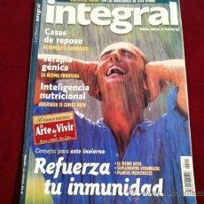 Coleccionismo de Revistas y Periódicos: REVISTA INTEGRAL Nº 215, NOV 1997 . REFUERZA TU INMUNIDAD, CASAS DE REPOSO, INTELIGENCIA NUTRICIONAL. Lote 28896572