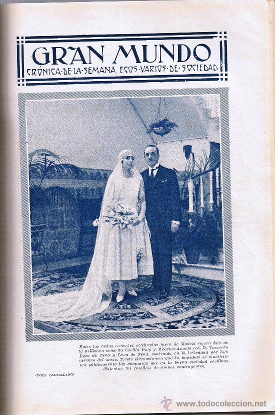 Coleccionismo de Revistas y Periódicos: BLANCO Y NEGRO - Nº 1946 - SEPTIEMBRE 1928 - REVISTA ILUSTRADA - Foto 3 - 28925964