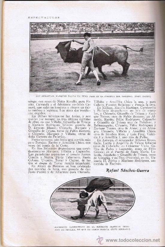 Coleccionismo de Revistas y Periódicos: BLANCO Y NEGRO - Nº 1946 - SEPTIEMBRE 1928 - REVISTA ILUSTRADA - Foto 4 - 28925964