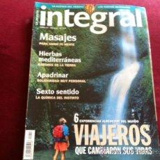 Coleccionismo de Revistas y Periódicos: REVISTA INTEGRAL Nº 210 , VIAJEROS QUE CAMBIARON SUS VIDAS SEXTO SENTIDO, HIERBAS MEDITERRANEAS. Lote 28941353
