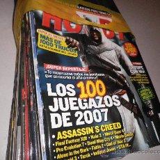 Coleccionismo de Revistas y Periódicos: LOTE 12 REVISTAS HOBBY CONSOLAS 2007. Lote 29030050