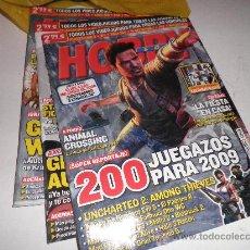 Coleccionismo de Revistas y Periódicos: LOTE 3 REVISTAS HOBBY CONSOLAS 2009. Lote 29030086