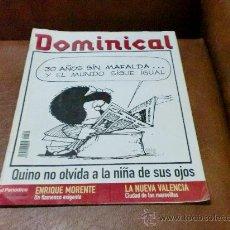 Coleccionismo de Revistas y Periódicos: REV.DOMINICAL 7/2003 - QUINO/MAFALADA.-AMPLIO RPTJE- ENRIQUE MORENTE,VALENCIA,ANIMALES.-. Lote 29046581
