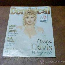 Coleccionismo de Revistas y Periódicos: REV. DOMINICAL 12/1996.- GEENA DAVIS- RPTJE. SPICE GIRLS,FRNCIS COPPOLA,GUADALUPE Y MARTINICA. Lote 29170127