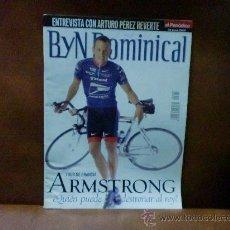 Coleccionismo de Revistas y Periódicos: REV. BYN DOMINICAL 6/2002 ARMSTRONG /RPTJE.VICTOR ULLATE,SINIESTRO TOTAL,BRETAÑA,M.GIBSON. Lote 29176933