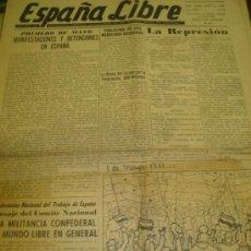 Coleccionismo de Revistas y Periódicos: ESPAÑA LIBRE, ÓRGANO DE SOCIEDADES HISPANAS CONFEDERADAS DE LOS EE.UU. DE AMÉRICA, 4 JUNIO 1965. Lote 29198598