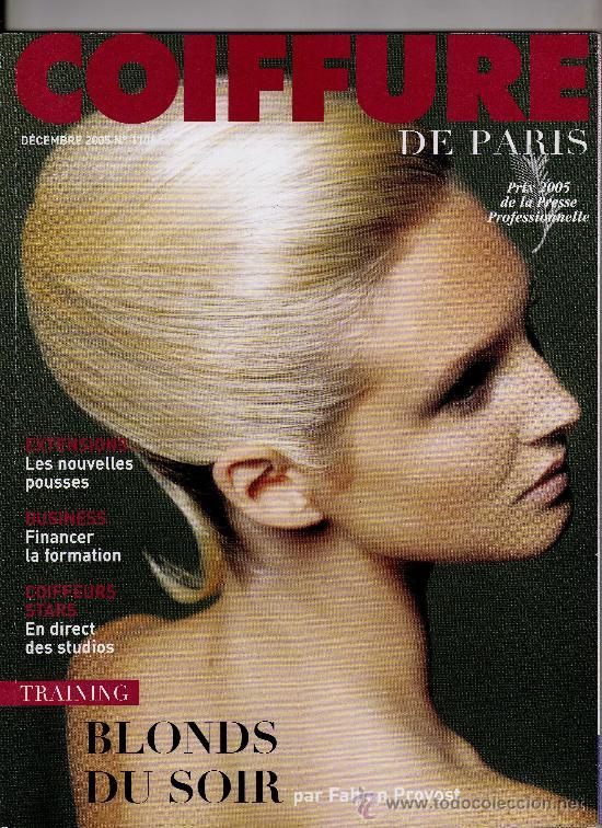 Revista Francesa Coiffure De Paris Nº 1108 Di Comprar Otras