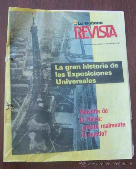 BUSTER KEATON, MUSSOLINI, ONASSIS, DALI - URUGUAY 1987 - REVISTA, MAGAZINE. (Coleccionismo - Revistas y Periódicos Modernos (a partir de 1.940) - Otros)