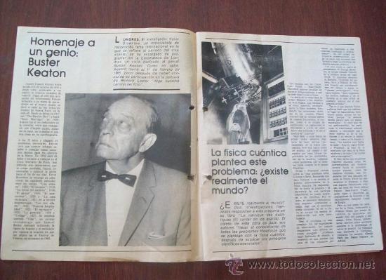 Coleccionismo de Revistas y Periódicos: BUSTER KEATON, MUSSOLINI, ONASSIS, DALI - URUGUAY 1987 - REVISTA, MAGAZINE. - Foto 2 - 29221662