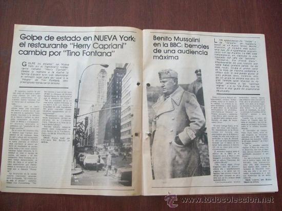 Coleccionismo de Revistas y Periódicos: BUSTER KEATON, MUSSOLINI, ONASSIS, DALI - URUGUAY 1987 - REVISTA, MAGAZINE. - Foto 3 - 29221662