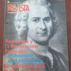 Coleccionismo de Revistas y Periódicos: ROUSSEAU URUGUAY 1987 - REVISTA, MAGAZINE. . Lote 29221728