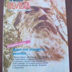 Coleccionismo de Revistas y Periódicos: MARTIN FIERRO, URUGUAY 1987 - REVISTA, MAGAZINE. . Lote 29221732