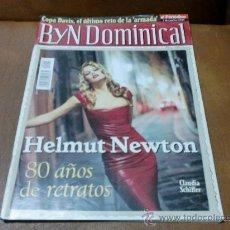 Coleccionismo de Revistas y Periódicos: REV.BYN DOMINICAL 12/2000 - HELMUT NEWTON 80 AÑOS... AMPLIO RPTJE- RIO TINTO,I. ALLENDE,NAVAJITA P. Lote 29226296