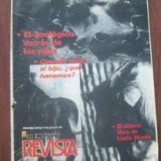 Coleccionismo de Revistas y Periódicos: ZOOLOGICO, URUGUAY 1987 - REVISTA, MAGAZINE. . Lote 29234956