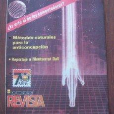 Coleccionismo de Revistas y Periódicos: MONTSERRAT DALI - URUGUAY 1987 - REVISTA, MAGAZINE. . Lote 29235018