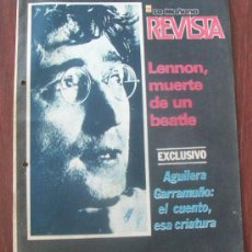 Coleccionismo de Revistas y Periódicos: WOJTYLA, LENNON, URUGUAY 1987 - REVISTA, MAGAZINE. . Lote 29235087