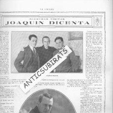 Coleccionismo de Revistas y Periódicos: REVISTA.AÑO 1914.SEMANA SANTA EN CARTAGENA. COFRADIA . CALIFORNIOS DE CARTAGENA.JOAQUIN DICENTA.. Lote 29243261