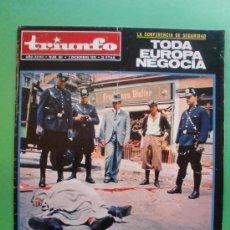 Coleccionismo de Revistas y Periódicos: TRIUNFO Nº 531 2 DE DICIEMBRE DE 1972 - LA MUERTE DEL MUNDO EN TECHNICOLOR M. VAZQUEZ MONTALBAN. Lote 29277892