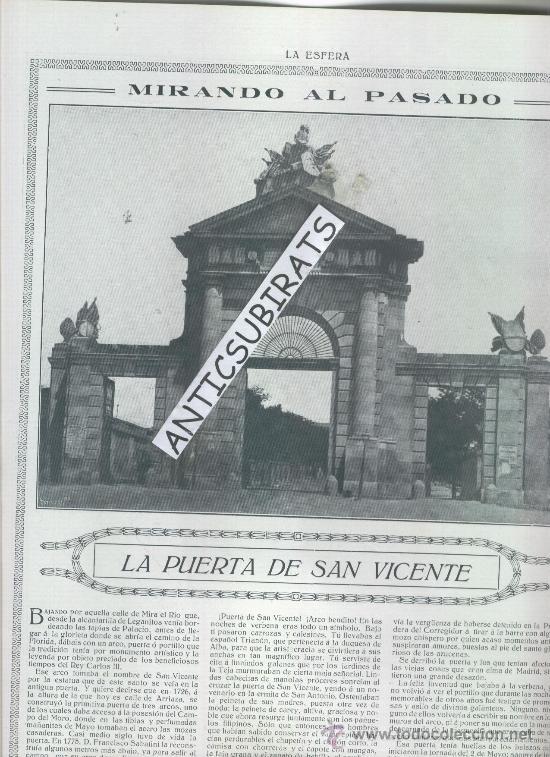 Revista 1914 puerta san vicente de madrid los b comprar revistas y peri dicos antiguos en - Puerta de madrid periodico ...