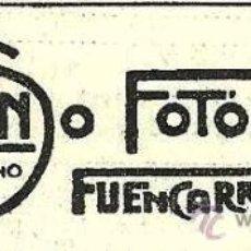 Coleccionismo de Revistas y Periódicos: PUBLICIDAD FOTÓGRAFO ALFONSO- 1916. Lote 29366698