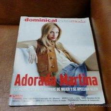 Coleccionismo de Revistas y Periódicos: REV DOMINICAL EXTRA/MODA 3/2006.-MARTINA KLEIN RPTJE.KARL LAGERFELD, MARIZA,ARTURO ELENA DIBUJANTE.. Lote 38871182