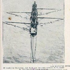 Coleccionismo de Revistas y Periódicos: TARRAGONA 1930 CAMPEONES CATALUÑA REMO RETAL HOJA REVISTA. Lote 29373424