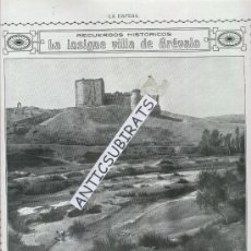 Coleccionismo de Revistas y Periódicos: REVISTA.AÑO 1916.EUGENI D'ORS.XENIUS.CASTILLO DE AREVALO. ALBAICIN.GRANADA. ARRABAL.GITANOS.. Lote 29392969