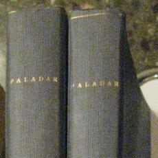 Coleccionismo de Revistas y Periódicos: COCINA. PALADAR. ENCICLOPEDIA DEL BUEN COMER. DOS TOMOS ENCUADERNADOS. DEL Nº 1 AL 32.. Lote 29421209